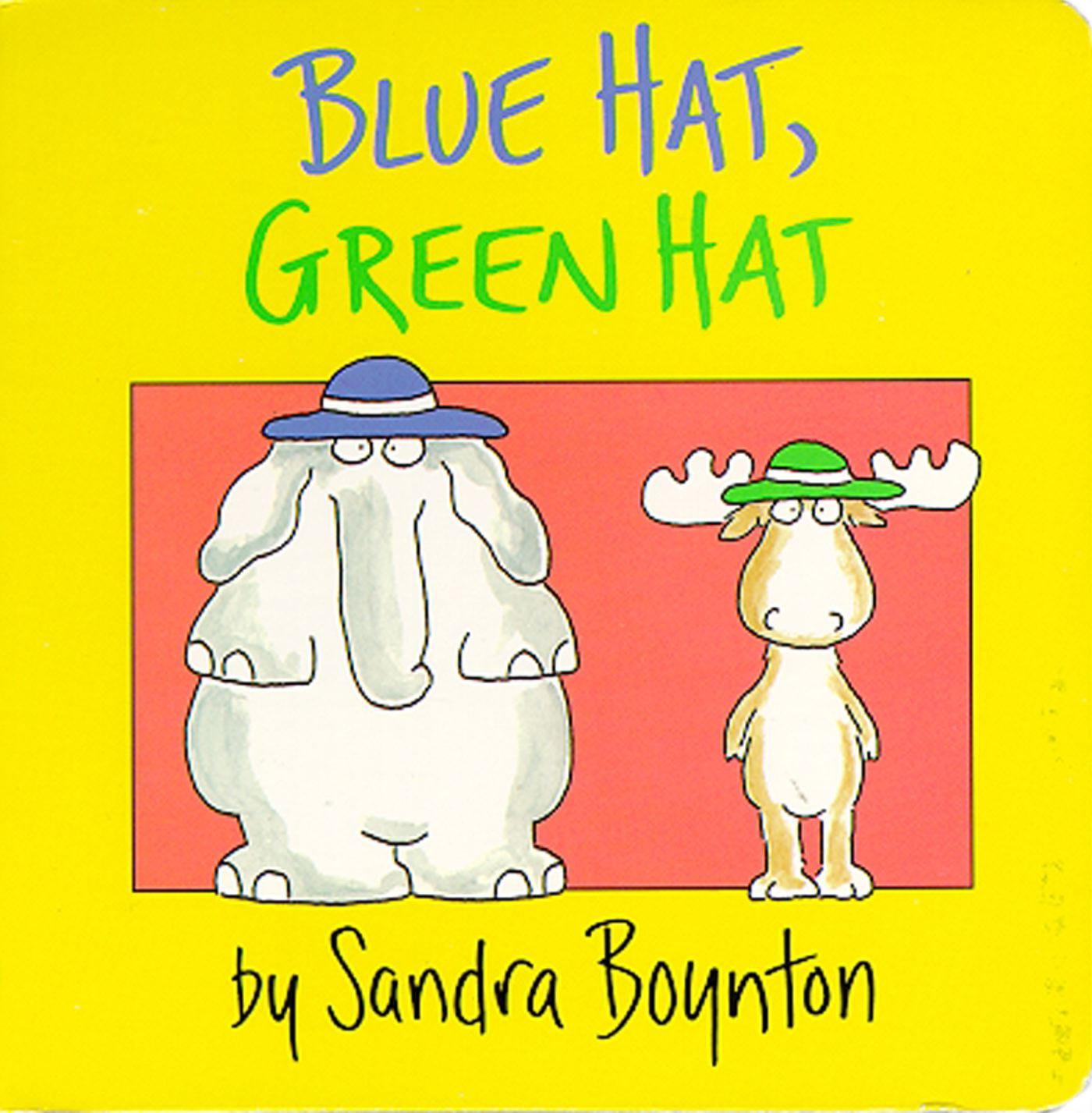 Blue Hat Green Hat (Board Book)