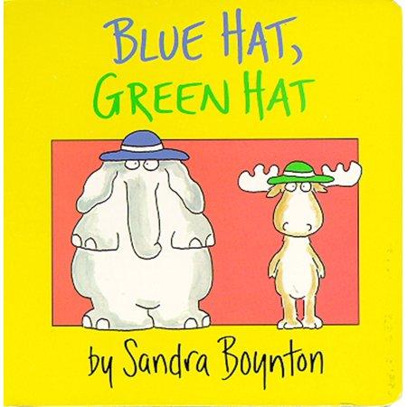 Blue Hat Green Hat (Board Book) - Board Hat