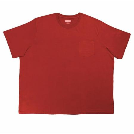 176a62d6220d65 Logan and Martin - NEW Logan   Martin Big Men s Heavyweight Cotton Pocket  Tee Shirt - 6XLT