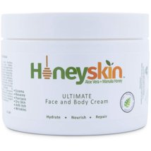 Body Lotions: Honeyskin Ultimate Face & Body Cream