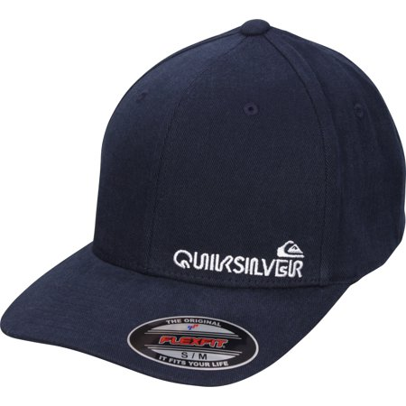 Quiksilver Mens Sidestay Flexfit Hat - Navy Blazer