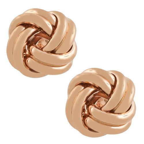 Fremada Jewelry Love Knot Earrings