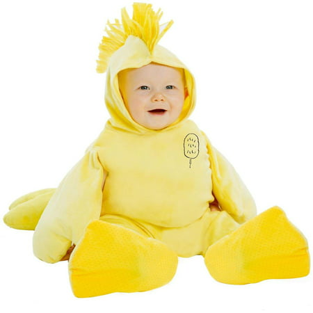 Peanuts Woodstock Deluxe Toddler Costume - 0 3 Month Peanut Halloween Costumes