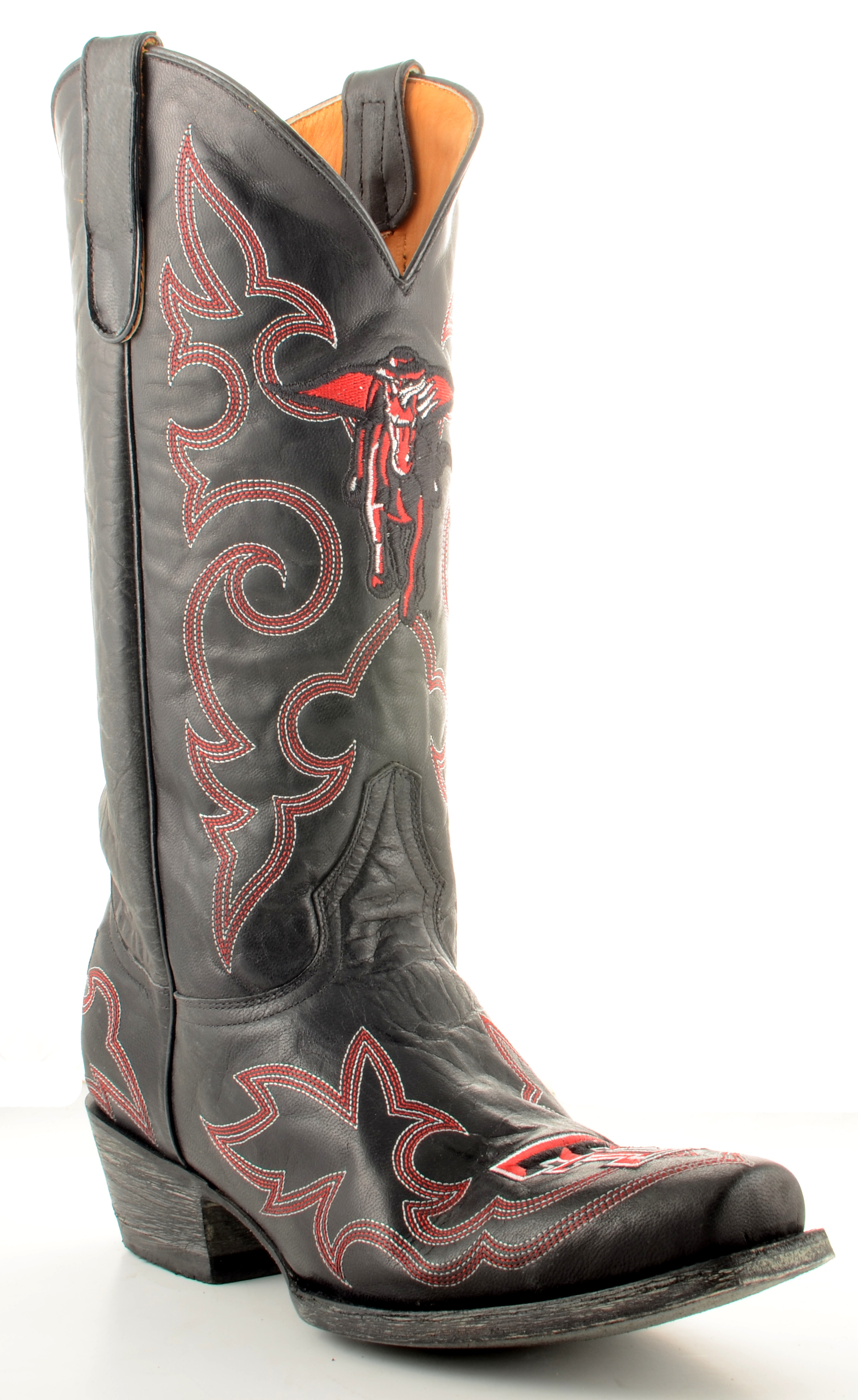 Gameday Boots Mens Leather Texas Tech Cowboy Boots by GameDay Boots