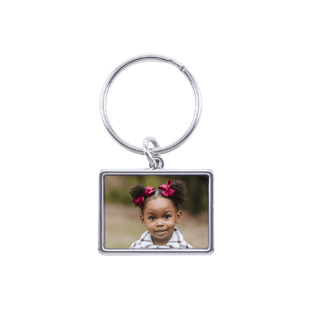 - Classic Photo Keychain, Horizontal