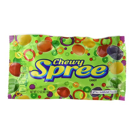 Wonka chewy spree candy, 1.7 oz Pouches, Pack of 24 - Wonka Nerds