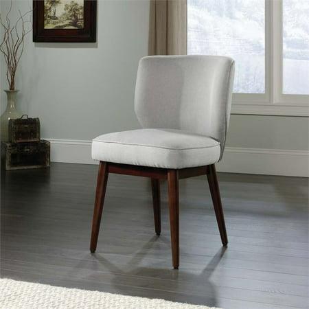 Sauder New Grange Roxy Accent Chair in Cadet Gray