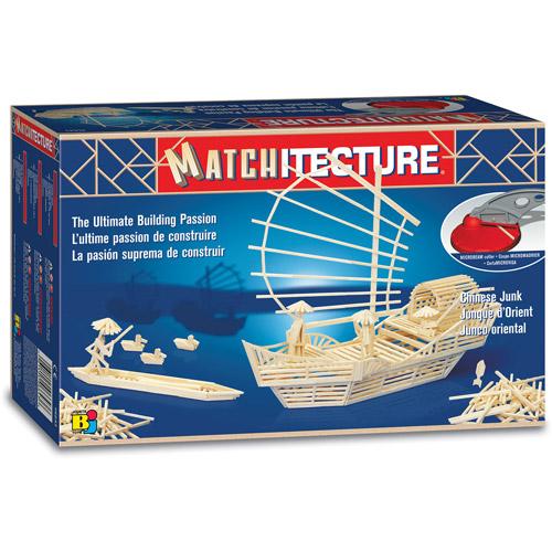 Matchitecture Chinese Junk Building Kit