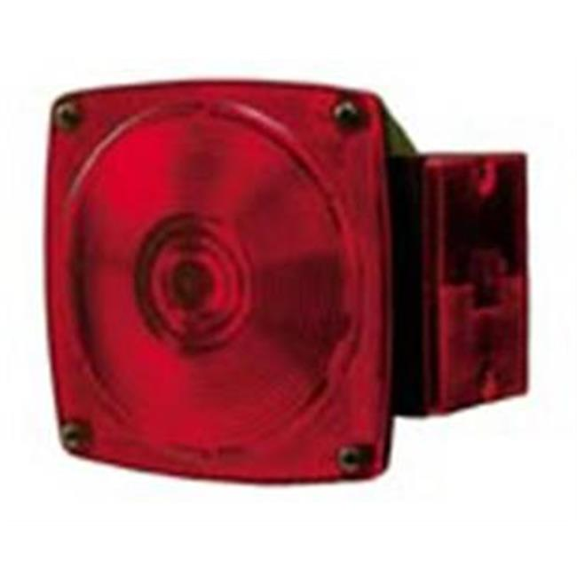 Peterson Mfg 5515R Turn Signal-Parking-Side Marker Light Lens, Red