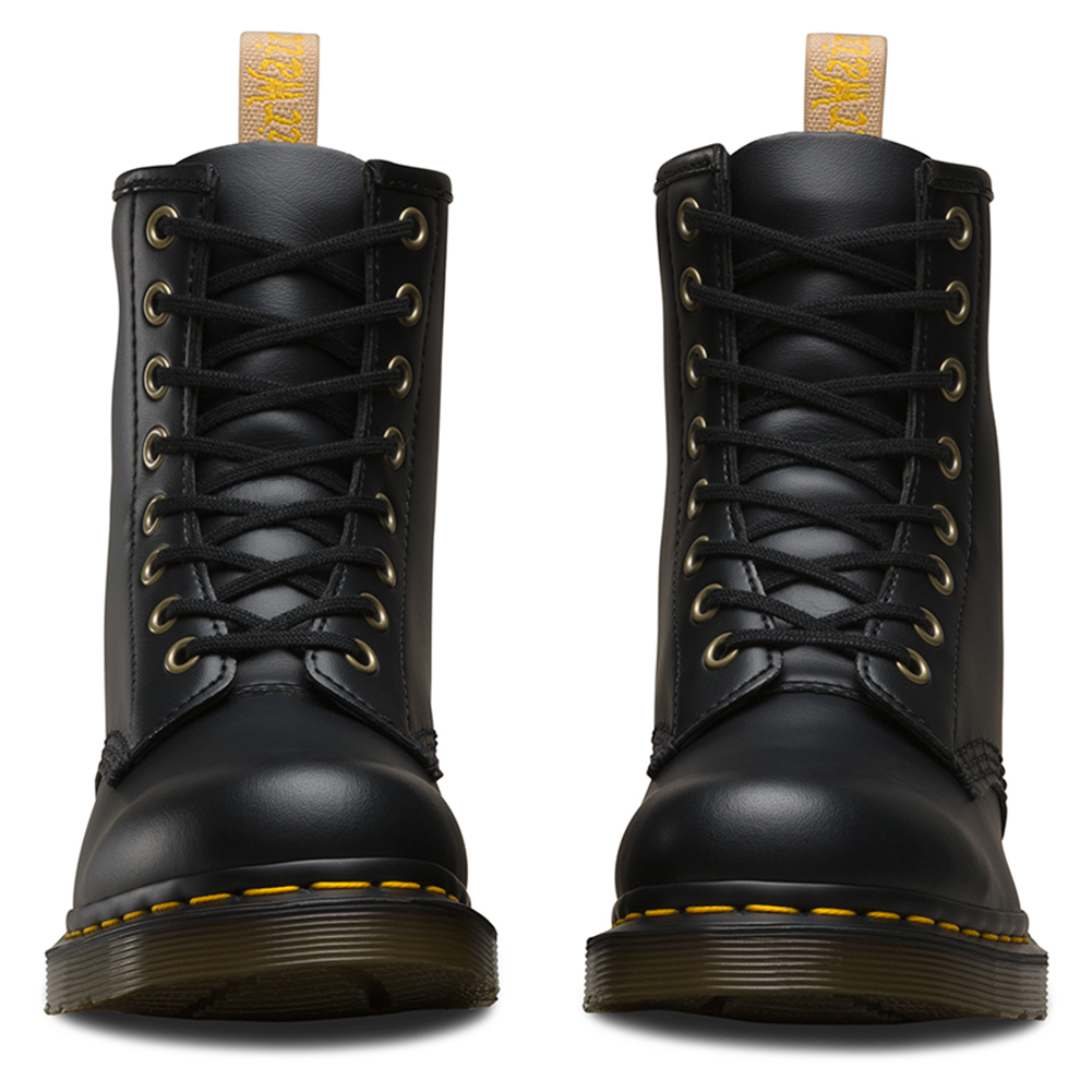 Dr. Martens Men's Vegan 1460 8-Eye Black Ankle-High Leather Boot - 8M