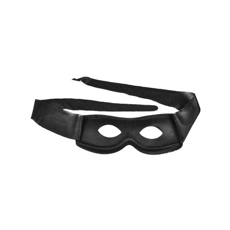 Simplicity Men / Women Black Costume Villain Eye Mask