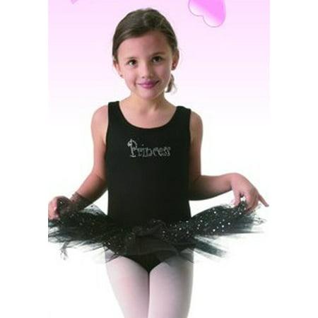 08efd8dc8 Posh Int l Kids Black Princess Tutu Leotard Dress Dance Costume XS ...