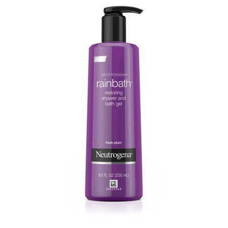 - Neutrogena Rainbath Shower and Bath Gel, Fresh Plum and Floral Scent, 8.5 fl. oz
