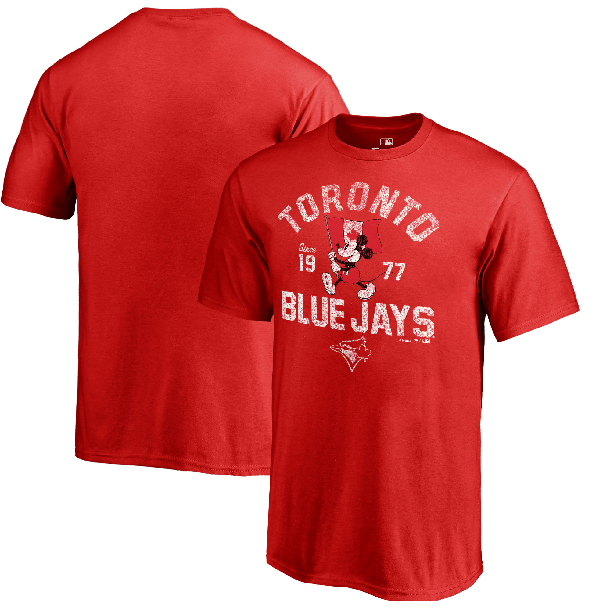 Toronto Blue Jays Fanatics Branded Youth Disney National Icon T-Shirt - Red