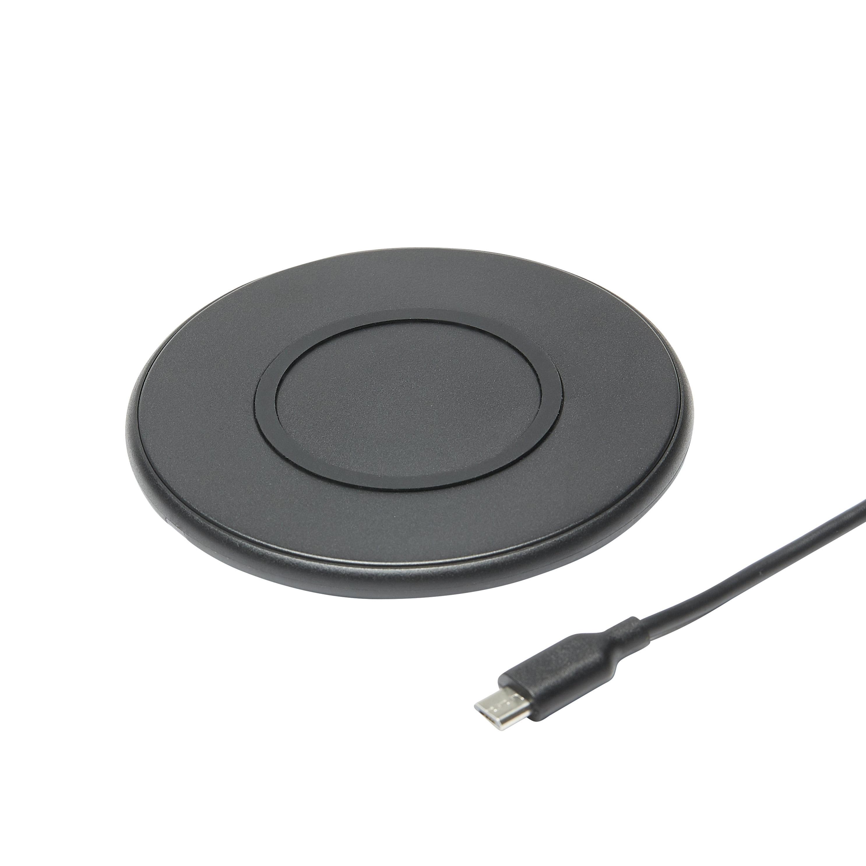 onn. 5W Wireless Charging Pad, Black