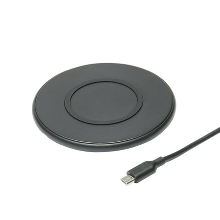 onn. 5W Wireless Charging Pad, Black