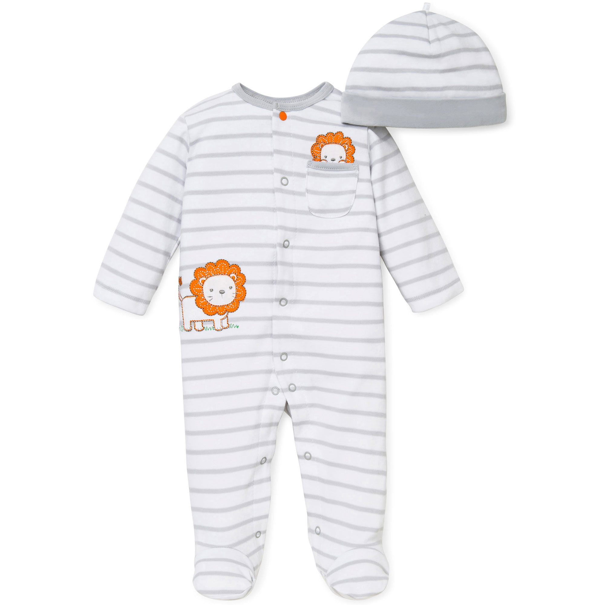 Baby boys sleep n play one piece romper coverall infant footed sleeper