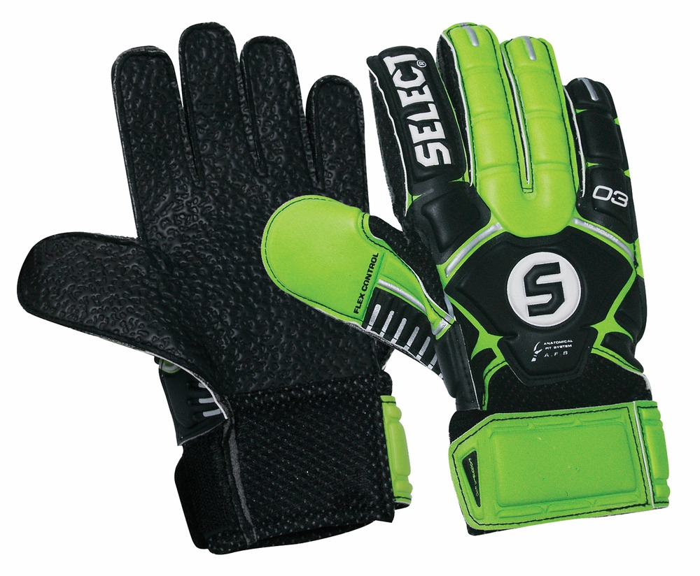Select Sport America 3 Youth Hard Ground Goalkeeper Gloves, 6 by