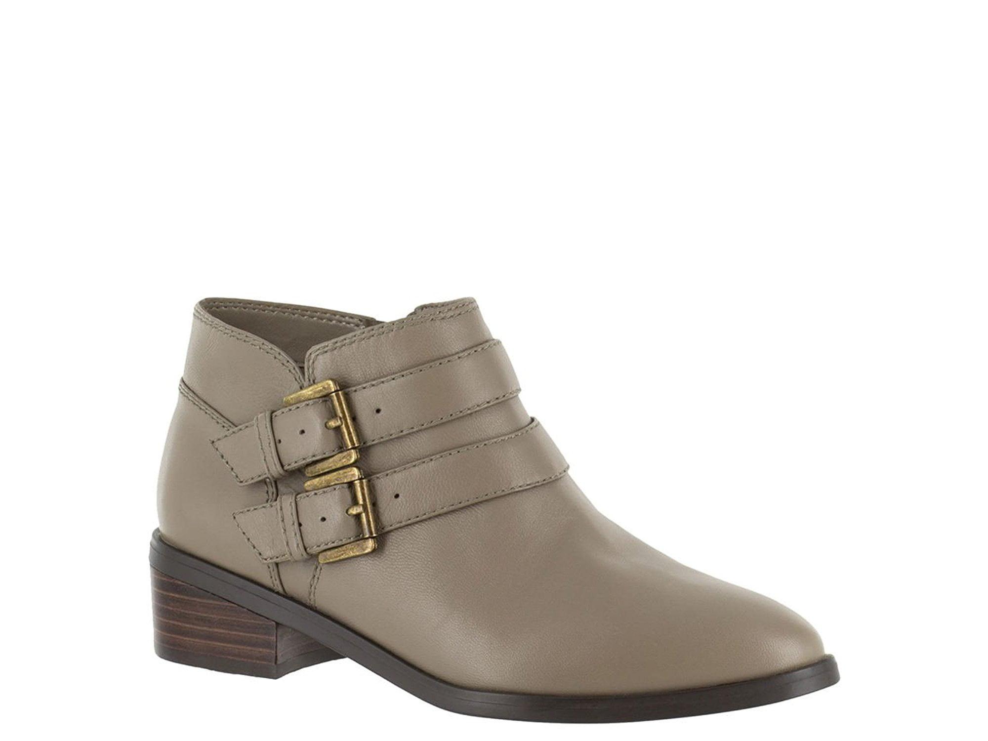 Bella Vita Womens Frankie Leather Closed Toe Ankle Fashion Boots