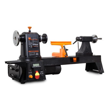 WEN 12-Inch by 15-3/4 Inch Variable Speed Multi-Directional Wood Lathe