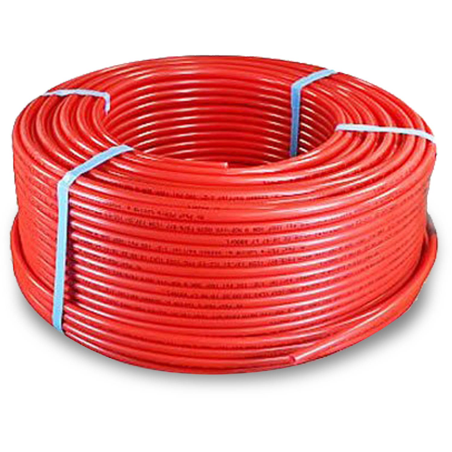 "Pexflow PFR-R341000 Pex Tubing, Oxygen Barrier Red, 3/4"" x 1000' (305m)"