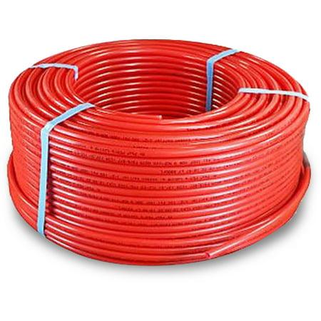 Pexflow PFR-R341000 Pex Tubing, Oxygen Barrier Red, 3/4