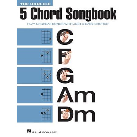 The Ukulele 5 Chord Songbook (Paperback) - The Chain Chords