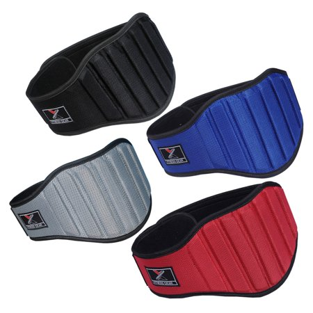 Weight Lifting Belt Gym Back Support Fitness 8