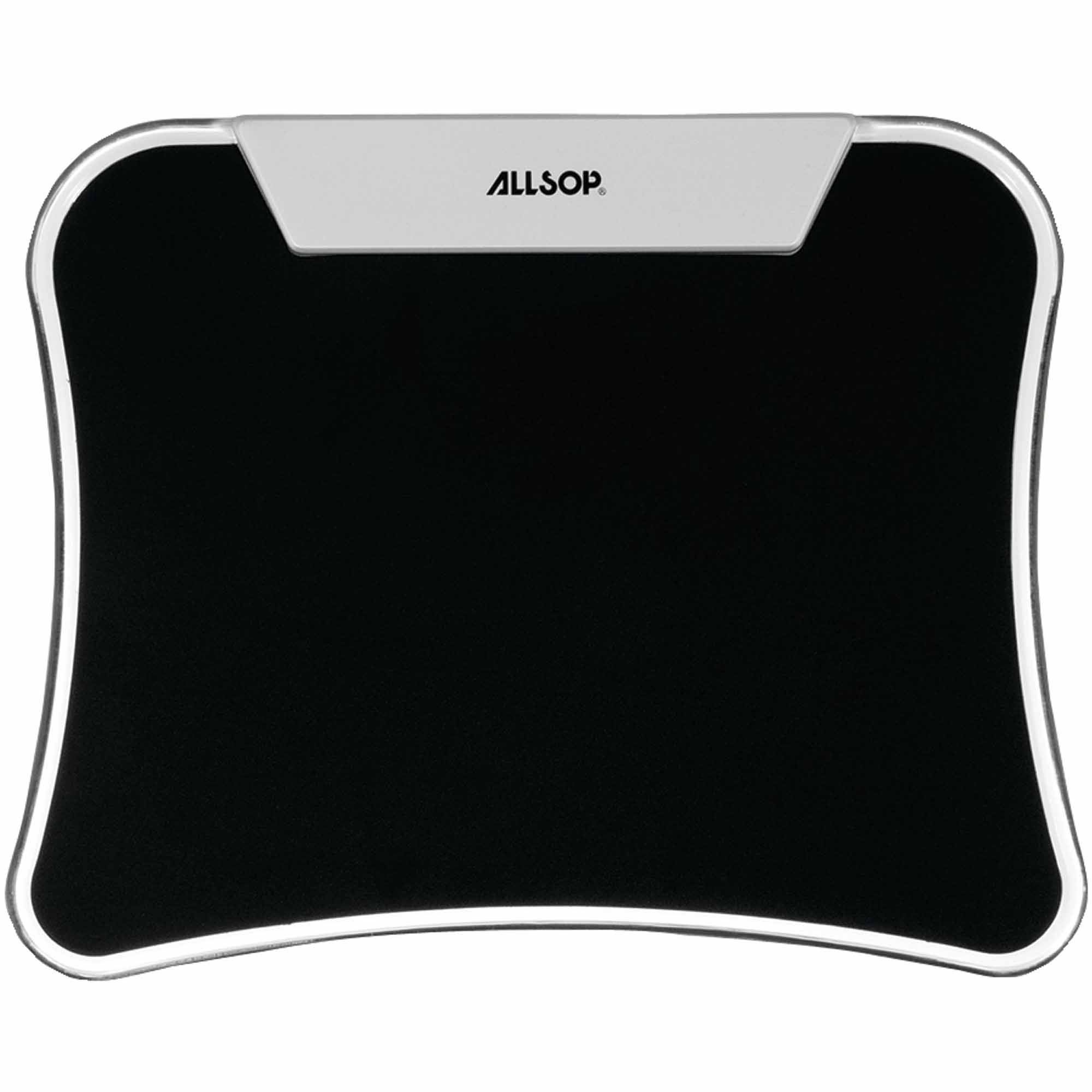 Allsop 30865 LED Mouse Pad, Black by Allsop