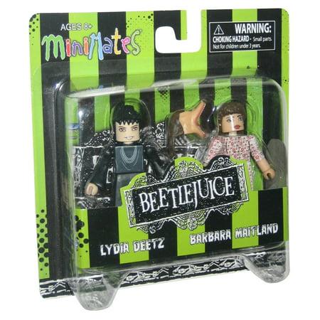 Beetlejuice Movie Lydia & Barbara MiniMates Figure Set