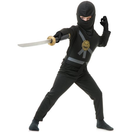 Avenger Costume (Ninja Avenger Child Costume Black -)