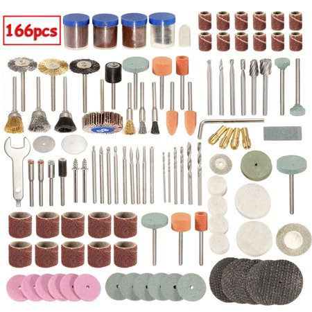 166 Grinding Rotary Tool Grinding Cleaning Cutting Disc Mixed Set Accessory Bit Set For 1/8