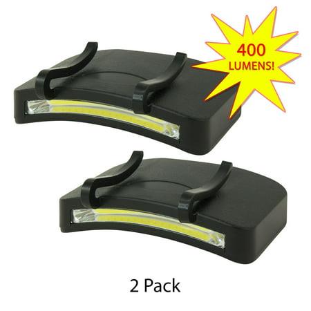 Promier P-CAPX2-8/24 COB LED Clip On Cap Light, 400 Lumen, - Graduation Cap Lights
