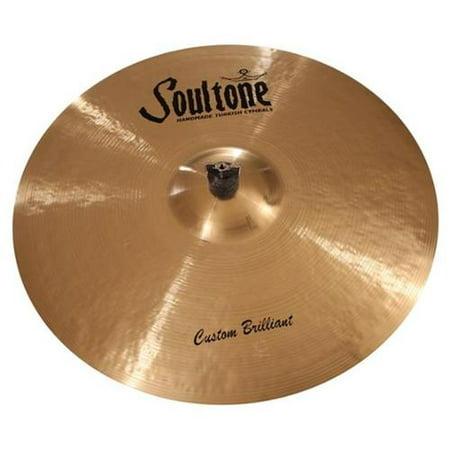 - Soultone Cymbals CBR-BBRID21 21 in. Brilliant Big Bell Ride