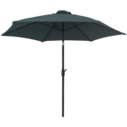 Mainstays 9' Textured Umbrella, Blue