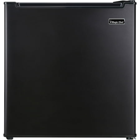 Magic Chef 1.7 Cu Ft Mini Fridge with Chiller Compartment, Black