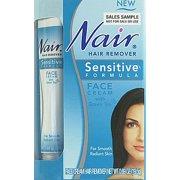 Nair 0.69 Oz. Sensitive Skin Face Hair Remover Cream