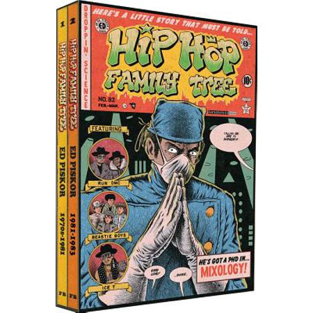 Hip Hop Family Tree: Hip Hop Family Tree 1975-1983 Gift Box Set (Paperback)