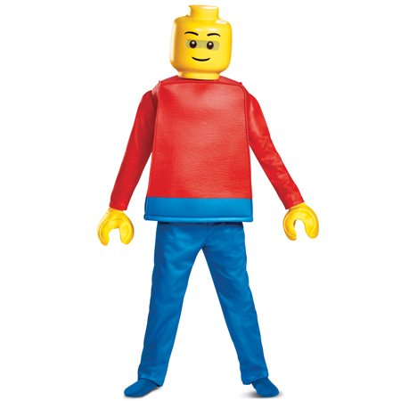 Family Guy Costumes For Kids (LEGO Guy Deluxe Child Costume)