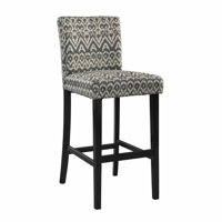 Linon Morocco Bar Stool, 30 inch Seat Height, Multiple Colors