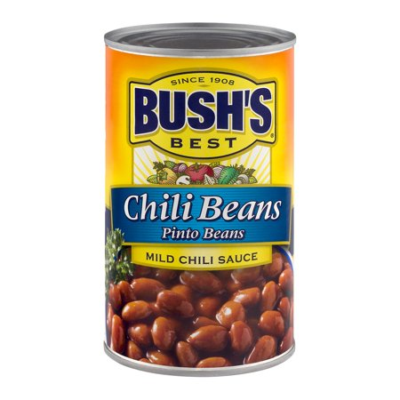 (6 Pack) Bush's Best Chili Beans Pinto Beans In A Mild Chili Sauce, 27 Oz