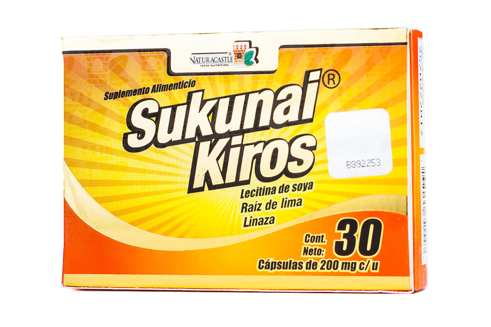 Sukunai Kiros Naturacastle the Original From Mexico Weight Management