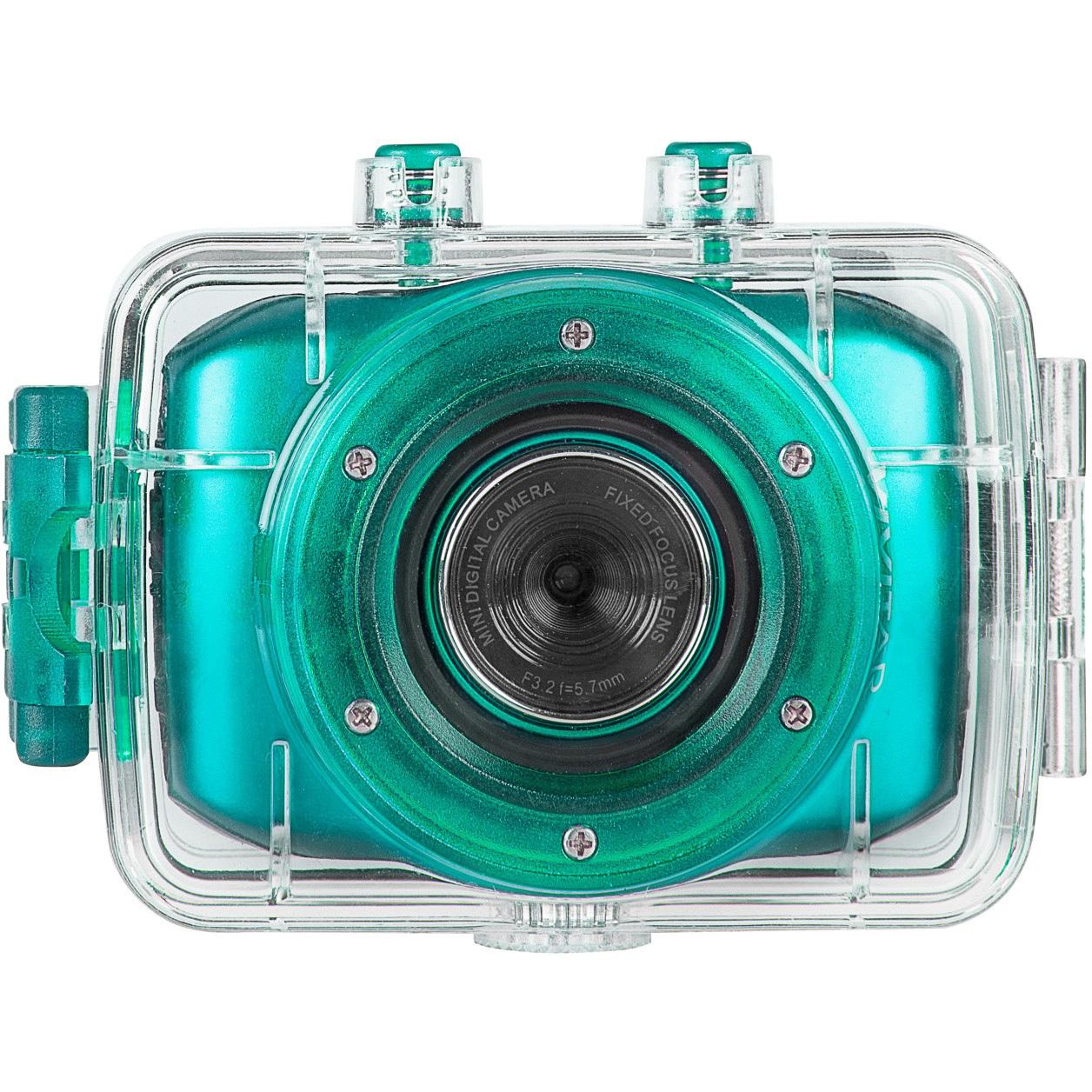 Vivitar HD Waterproof Action Camera (Teal) by Vivitar