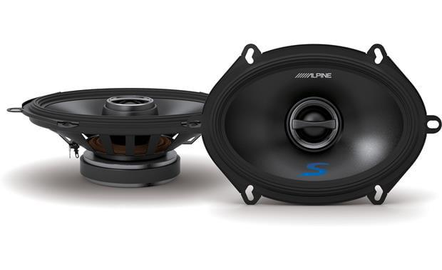 Alpine S-S57 5x7 Inch Coaxial Speaker Set
