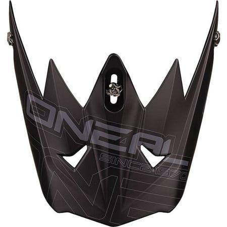 Matte Black O'Neal Racing 3 Series Matte  Helmet - Halloween Racing Helmet