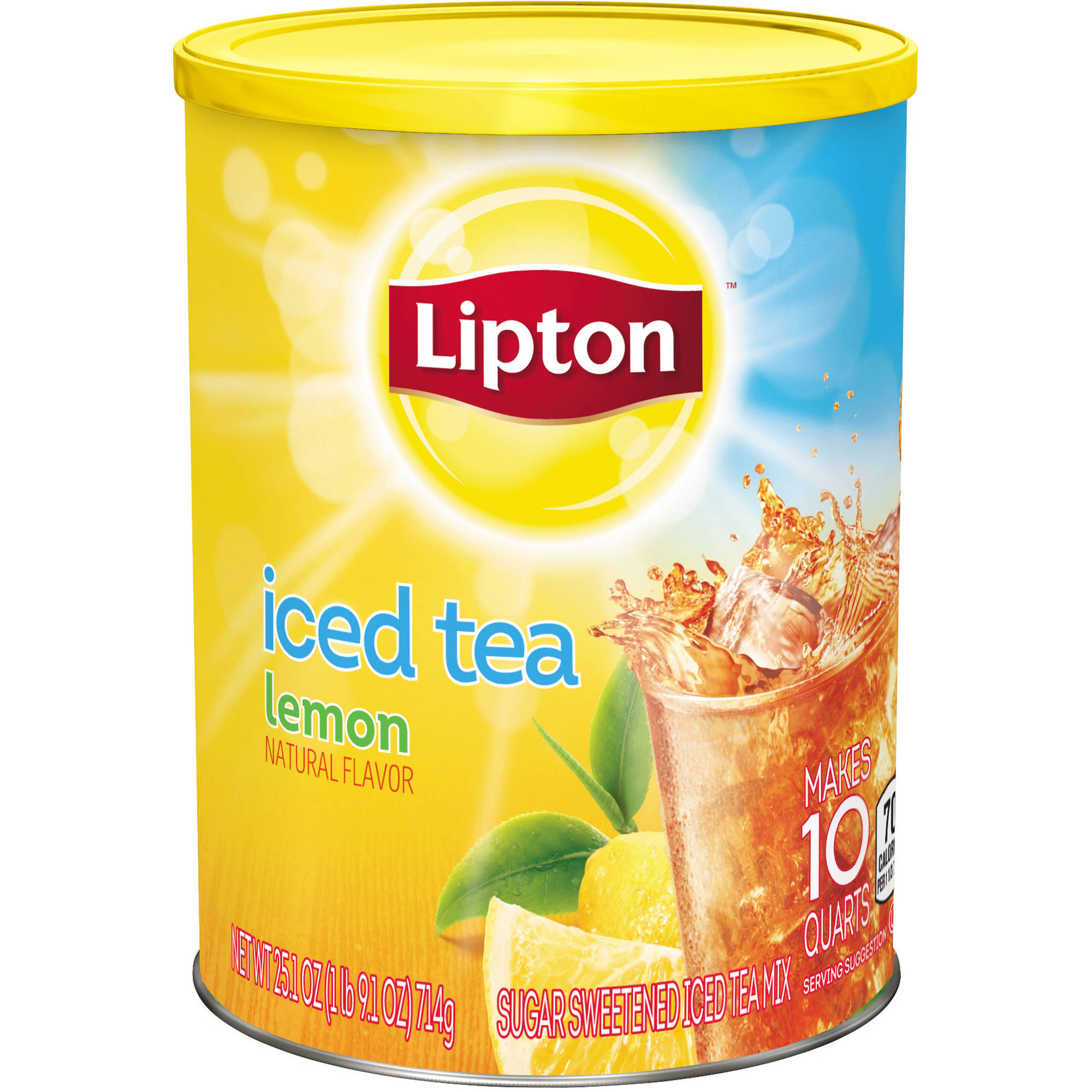 Lipton Lemon Iced Tea Mix, 10 qt
