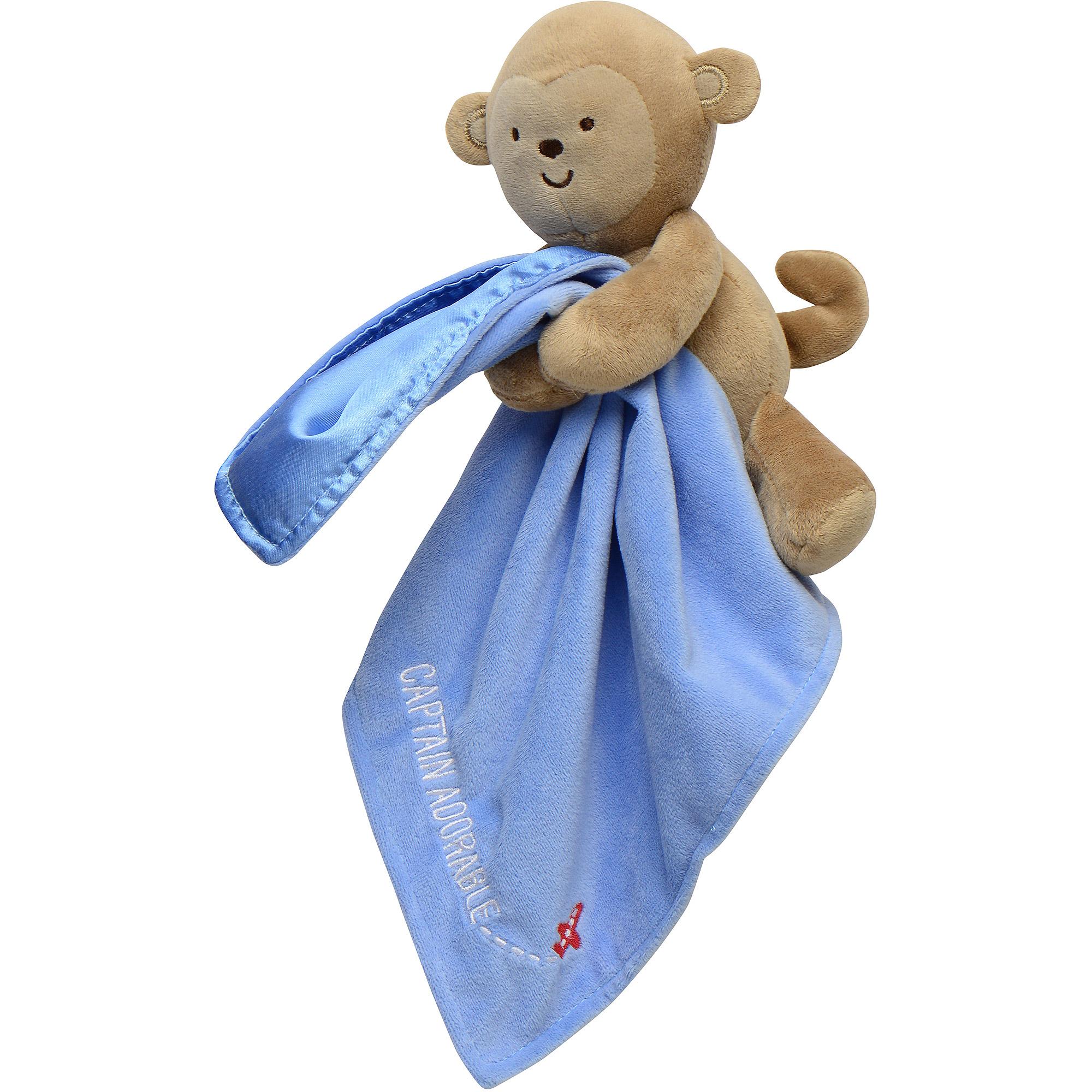 Child Of Mine Boy Monkey Security Blankt