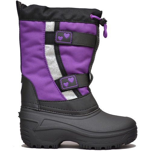 Girls' Shauna Purple Winter Boot Temp Rated -22F