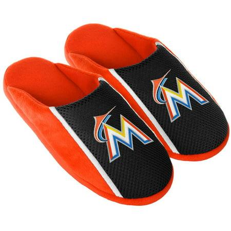 Miami Heat Mens Jerseys - Miami Marlin Slippers Jersey Slide House Shoes