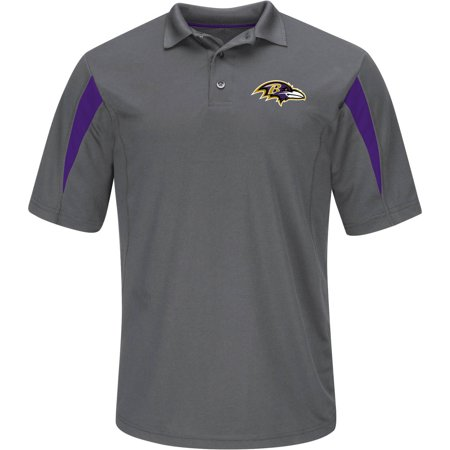 NFL Baltimore Ravens Big Men's Basic Polo (Baltimore Ravens Logo Jersey)